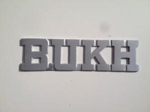 Bukh skilt