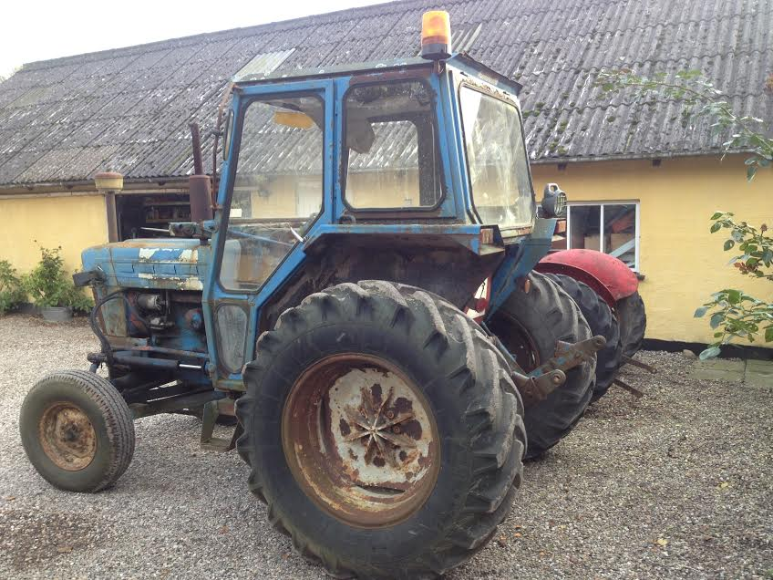 model traktor til salg