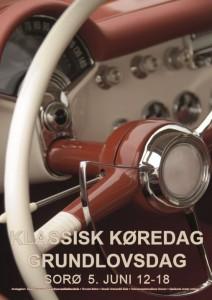 Indbydelse til Klassisk Køredag i Sorø, 5. juni 2016